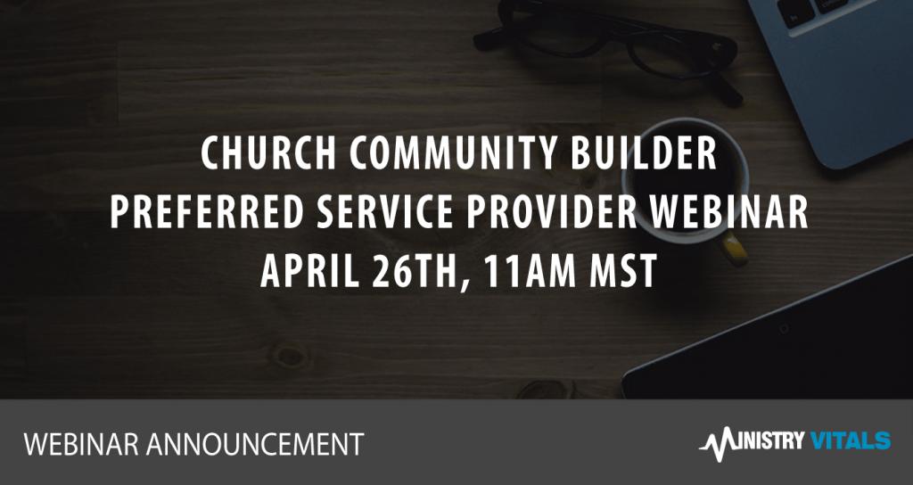 Church Community Builder Webinar